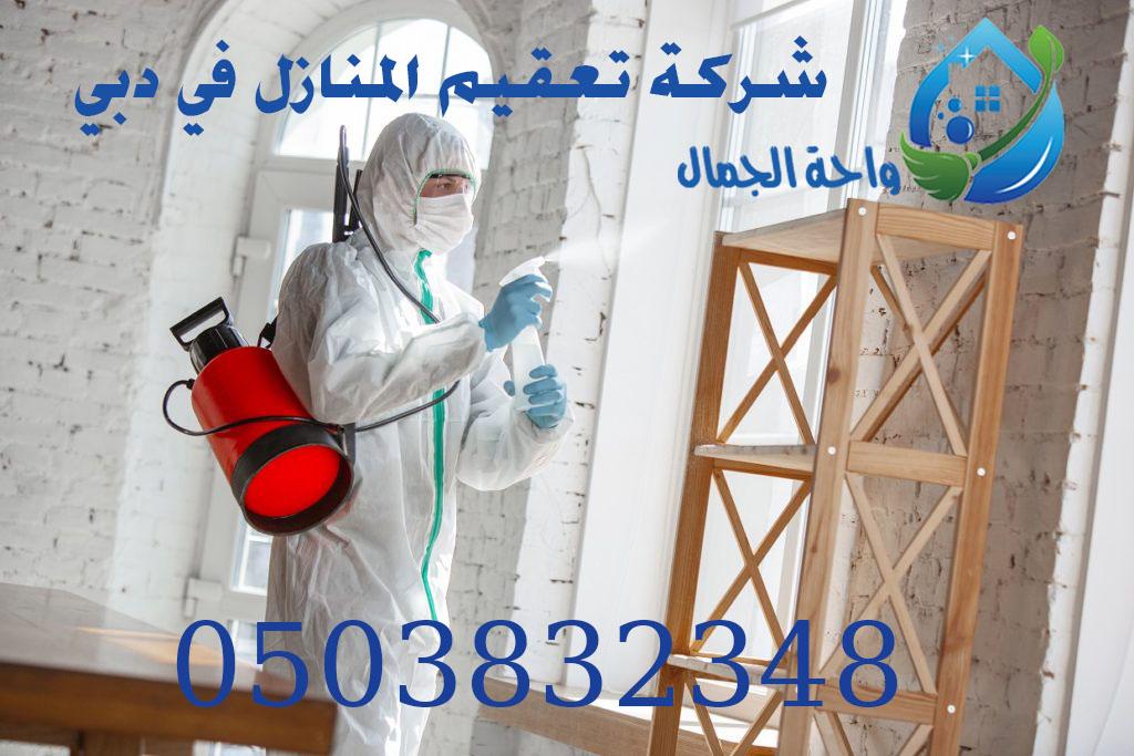 شركة تعقيم المنازل في دبي